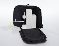 Portable Anesthesia Machine Carrying Case