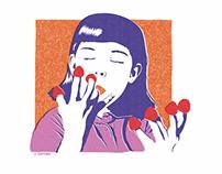Amélie Poulain | Sketch, illustration & print