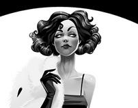 Elegance of black & white