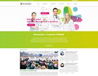 Diseño Web para Fundación Humans