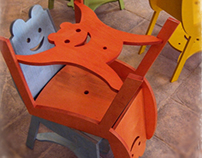 Sedie e tavoli per Biblioteca ragazzi