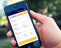 Lufthansa iPhone App Redesign Concept