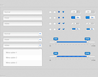 User Interface Web Elements