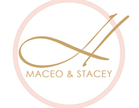 Maceo & Stacey Wedding Monogram