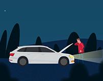 Falck - Animated promotion