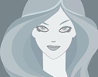 Girl in Greyscale