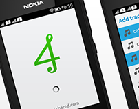 4shared Music for Nokia Asha