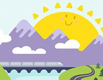 Healthy & Happy - Editorial Illustration & Design