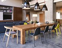 Living room loft