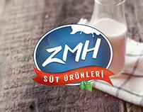 ZMH Süt Ürünleri Logo Design