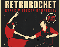 Event Poster - RetroRocket