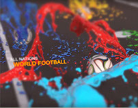 Colourful Football