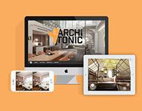 Archi Tonic | Identity & UX/UI