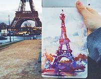 Sketching Paris