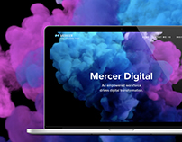 Web Design for Mercer Digital