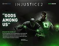 Injustice 2 | UI/UX Design