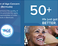 Age Concern Brochure Reimagining