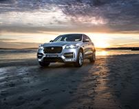 Jaguar F-Pace Location shoot