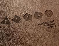 Ritmo разработка логотипа и фирстиля