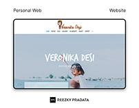 Personal Travel Website