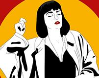 Mia Wallace •Pulp Fiction