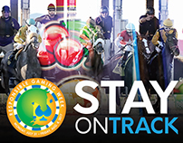 Stay On Track - Responsible Gaming Week 2017 Posters