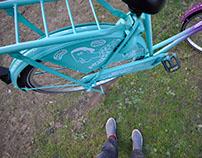 Illustration on bike \ may 2016 \ Rotterdam, NL