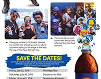 Pepsi Refresh Tour - Editorial Design