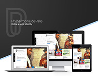 Philharmonie de Paris Website Design