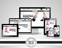 The Dance Socks - Website Design (2013)