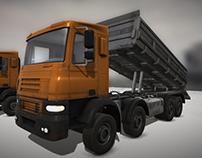 damp truck game model