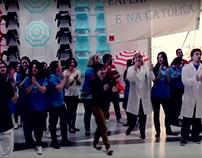 Flash Mob Enfermagem UCP - Porto 2013