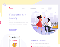 Meeting website. Colors inspiring design!