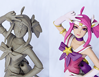 Clay Modeling: Star Guardian Lux - League of Legends