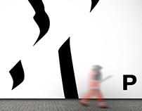 International creative pattern / exhibition identity