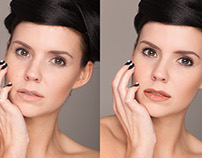 Retouch. Before/After