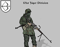 Historical Uniforms 101st Division art