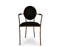 ENCHANTED II Dining Chair | By KOKET