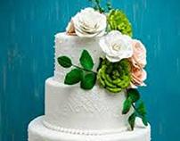 The Perfect Custom DC Wedding Cake