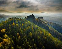 Bohemian-Saxon Switzerland by day Czeska Szwajcaria II