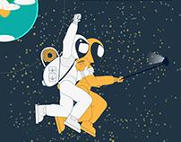 Lunar tourism Infographic