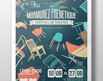 Murmurez Frenetique - Festival - Print