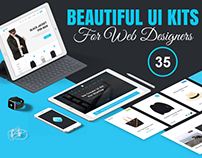 35+ Beautiful UI Kits for Web Designers & Developers