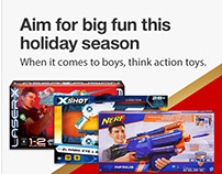 Targets Holiday Boys Toys Campaign
