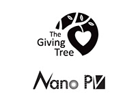 Logos for Giving Tree and Nano, Inc.