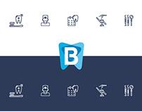 BONADENTA   Odontol. & estética » Branding + Key visual