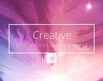 Creative Agency Website 1.0 | 2016