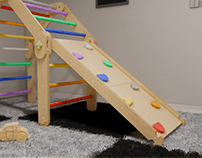 Indoor Play House - Domowy Plac Zabaw