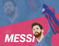 Messi & Ronaldo Illustrations