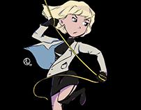 Atomic Blonde - sketch